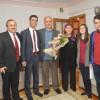İl Milli Eğitim Müdürü Kahveci, Emekli Öğretmenleri Ziyaret Etti