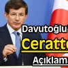 Başbakan Davutoğlu, Cerattepe'ye Savundu