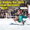 Şavşat'ta 21'inci Veliköy Kar Üstü Karakucak Güreşleri Yapıldı