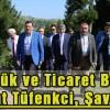 Gümrük ve Ticaret Bakanı Bülent Tüfenkci, Şavşat'ta