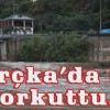 Borçka'da Sel Korkuttu