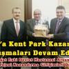 Şavşat'a Kent Park Kazandırma Çalışmaları Devam Ediyor