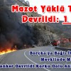 Mazot Yüklü Tanker Devrildi: 1 Yaralı