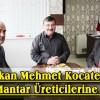 Başkan Mehmet Kocatepe'den Mantar Üreticilerine Destek