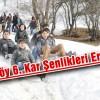 Yavuzköy 6. Kar Şenlikleri Ertelendi