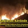 Çağlayan Köyünde Yangın