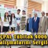 Şavşat ÇPAL Tübitak 4006 Bilim Fuarı Çalışmalarını Sergiledi