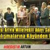 Saadet Partisi Artvin Milletvekili Adayı Salih BERBER, Seçim Çalışmalarına Köyünden Başladı