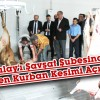 Türk Kızılay'ı Şavşat Şubesinden Vekaleten Kurban Kesimi  Açıklaması