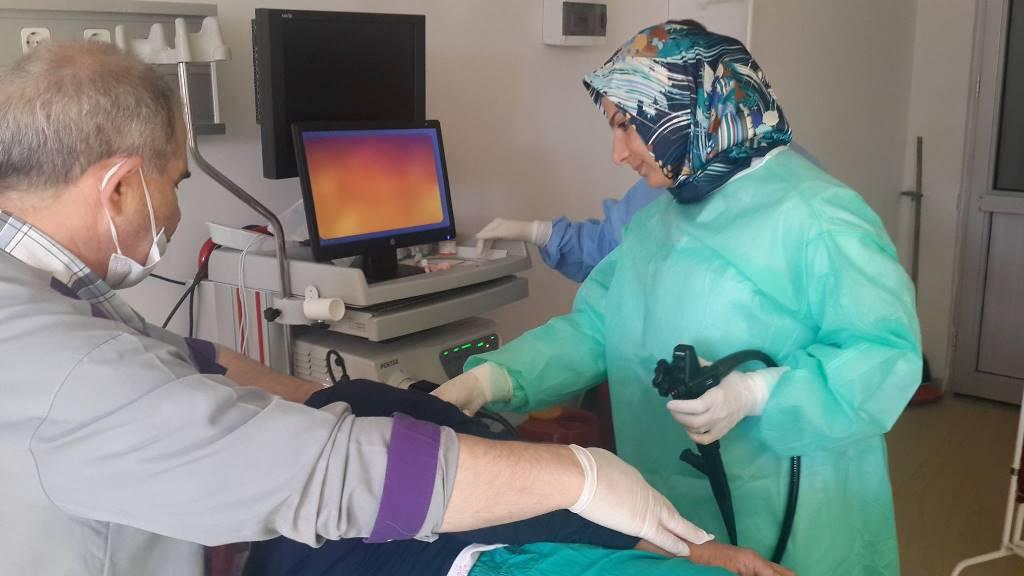 Artık Artvin Devlet Hastanesi'nde Endoskopi Yapılıyor