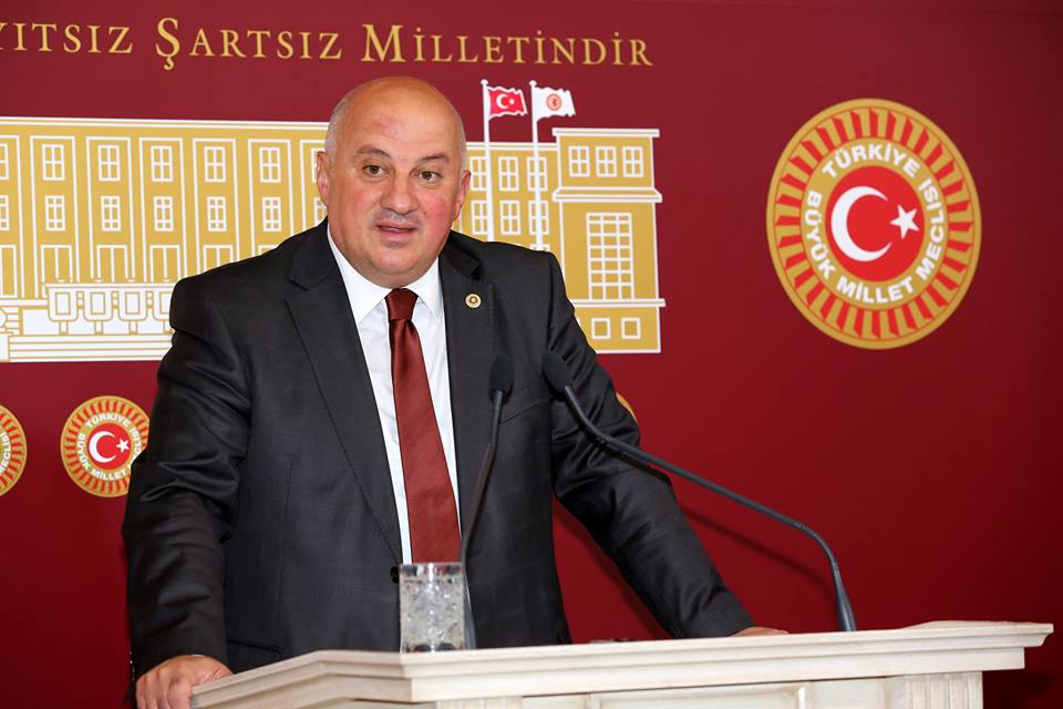 CHP Artvin Milletvekili Bayraktutan'dan TBMM'ye Dilekçe