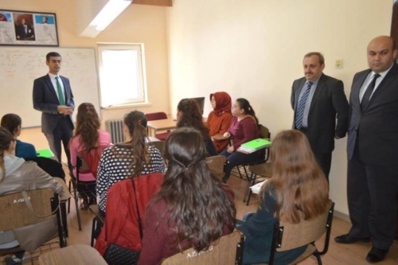 İl Milli Eğitim Müdürü'nün Okul Ziyaretleri Devam Ediyor