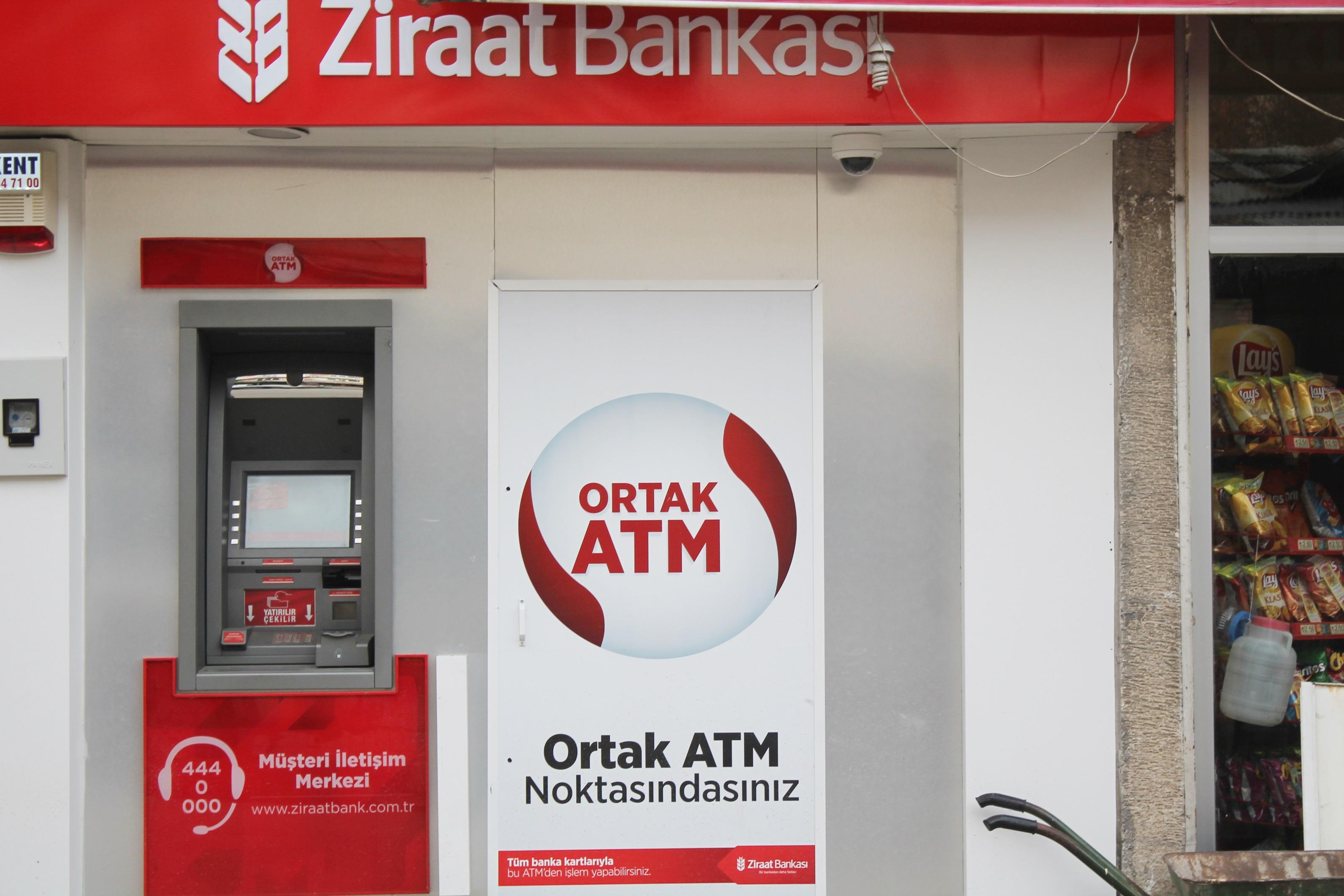 Ziraat Bankası Yeni ATM makinesi Kurdu