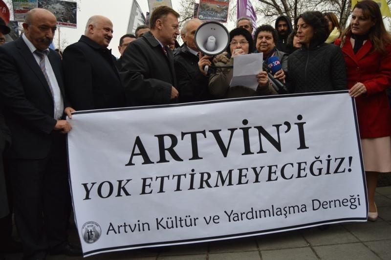 Artvin'i Yok Ettirmeyeceğiz