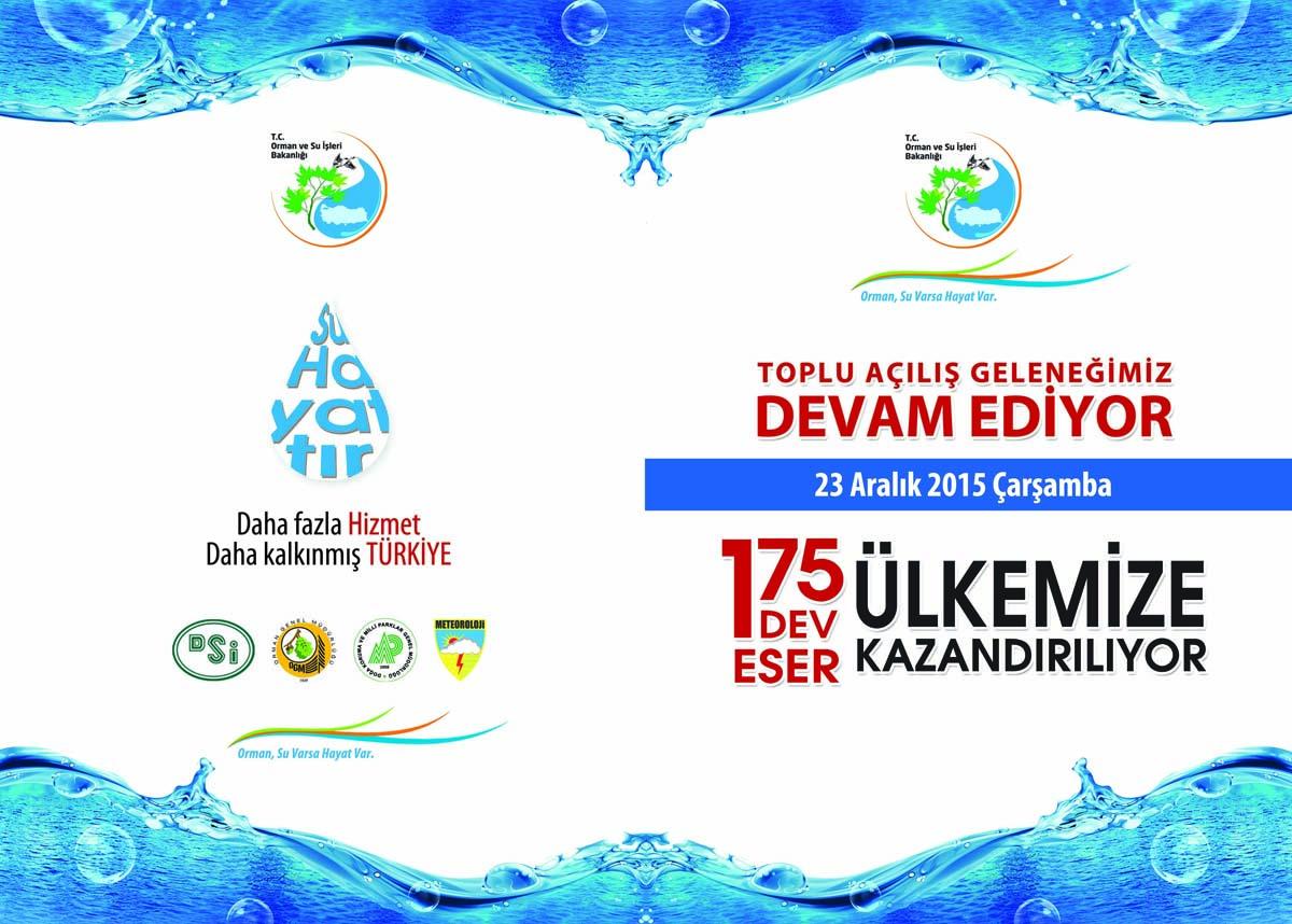 Başbakan Ahmet Davutoğlu'nun Hizmete Alacağı Eserlerden Artvin'de Payını Alacak