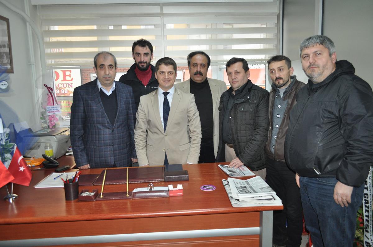 AGC'den Basın Müdürü Remzi Yavuz'a Ziyaret