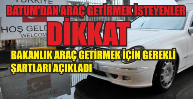 Bakanlık Uyardı, Yabancı Plakalı Araç Sahiplerinin Dikkatine!