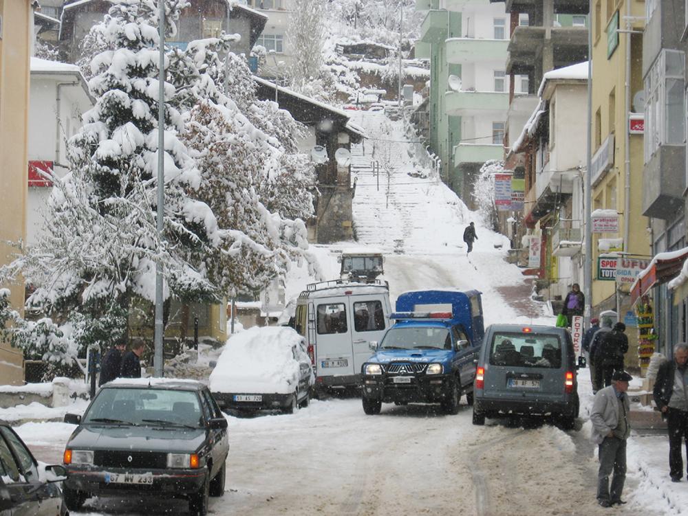 Şavşat Karla Savaş Halinde