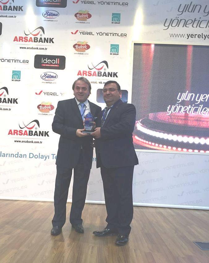 Yılın Yerel Yöneticisi Ödülü Artvin'e