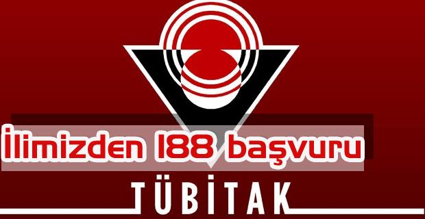 İlimizden TÜBİTAK' a 188 Adet Proje Başvurusu Yapıldı