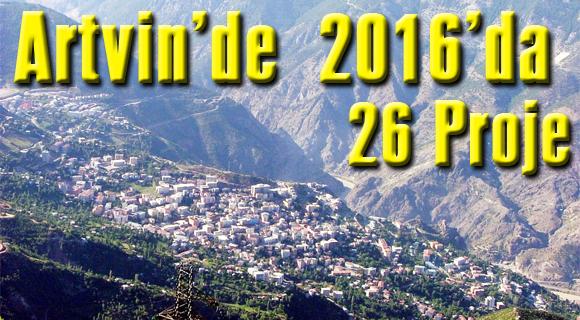 2016'da 26 Proje