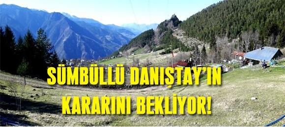 SÜMBÜLLÜ DANIŞTAY'IN KARARINI BEKLİYOR!