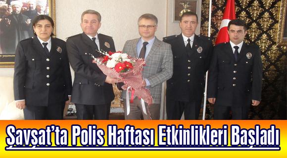 Şavşat'ta Polis Haftası Etkinlikleri Başladı