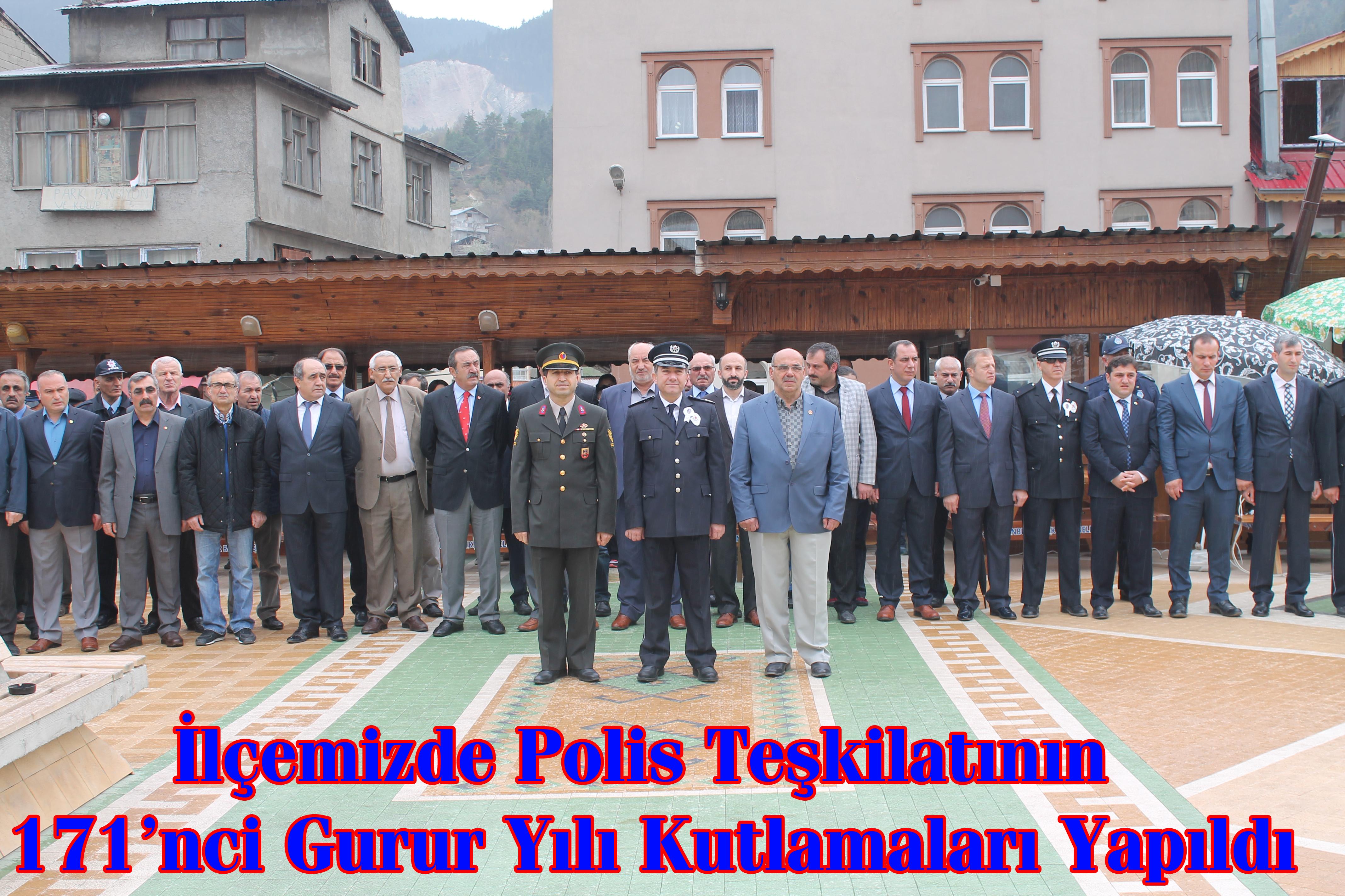 Türk Polis Teşkilatının 171. Kuruluş Yıldönümü Kutlandı