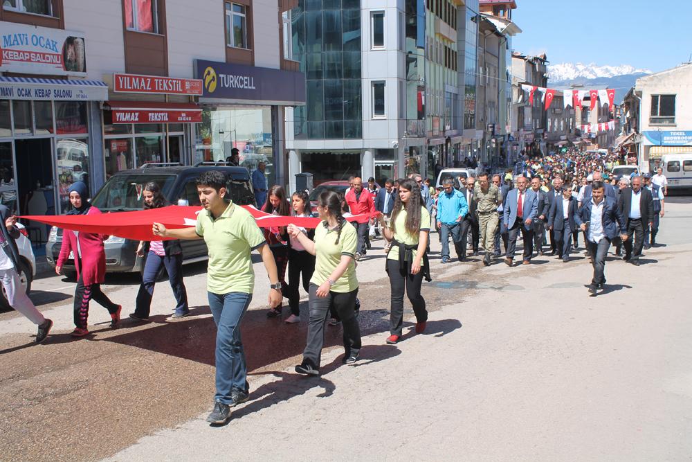 Şavşat'ta Gençlik Haftası Törenle Başladı