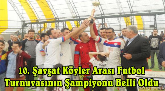 İstanbul'da Düzenlenen 10. Şavşat Köyler Arası Futbol Turnuvasının Şampiyonları Belli Oldu