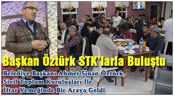 Başkan Öztürk STK'larla Buluştu