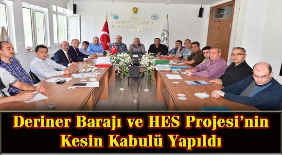 Deriner Barajı Ve HES Projesi'nin Kesin Kabulü Yapıldı
