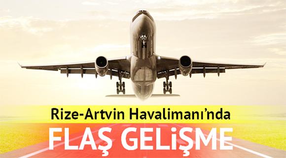 Artvin Rize Havalimanı Projesi YPK'ndan Çıktı