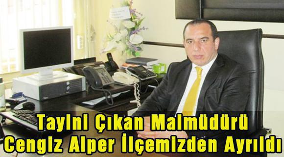 Şavşat Malmüdürü Cengiz Alper'in Tayini Çıkarak İlçemizden Ayrıldı
