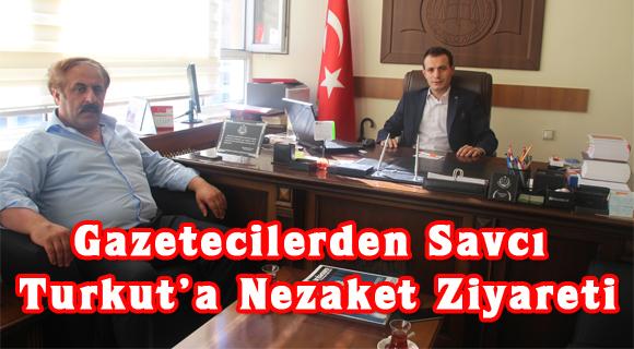 Gazetecilerden Savcı Turkut'a Nezaket Ziyareti