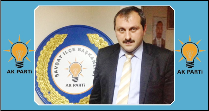 AK Parti Şavşat İlçe Başkanı Sedat DEMİR YENİ YIL Nedeniyle Bir Mesaj Yayınladı