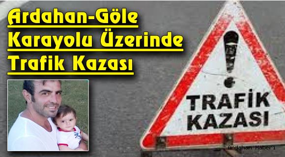 Ardahan-Göle Karayolu Üzerinde Trafik Kazası