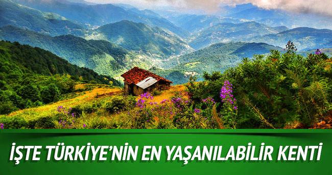 Artvin, Türkiye'nin en Yaşanabilir On Kenti Arasında